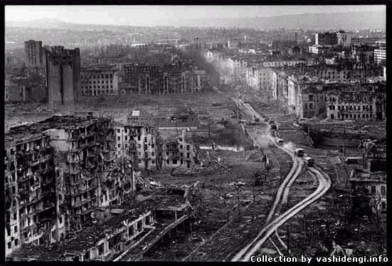фото грозный после войны